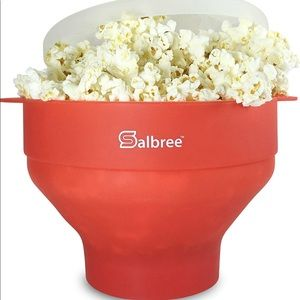 Silicon Microwave Popcorn Popper Safe & Durable